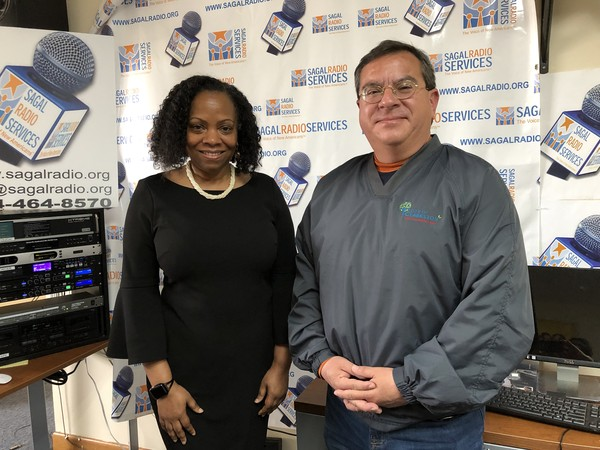 (L-R)Clarkston Speaksradio show host, Beverly Burks, sat down with Clarkston's City Manager, Robin Gomez, to discuss his role, Clarkston's construction projects, City of Clarkston's goals and priorities, and balancing the needs of the city, with increasing economic development, affordable housing and land mass via future-state annexation(s). Listen in to learn more about Gomez as he gives his personal and professional assessments of living in Clarkston, City of Clarkston services and delivery, City staff and personnel, and Clarkston's diversity.