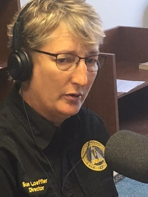 Interview with Chief Susan Loeffler, Director of Dekalb County Emergency Management Agency.