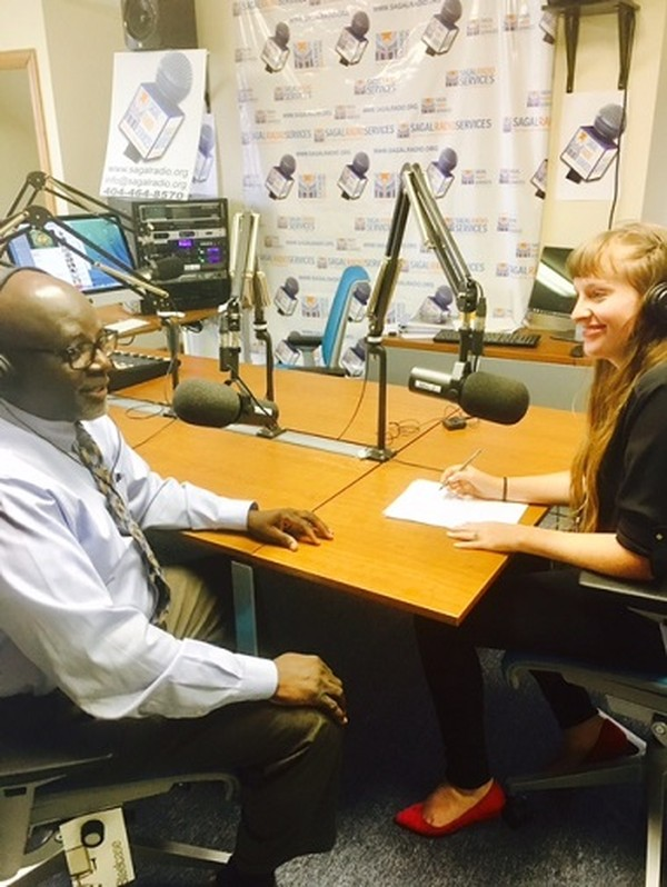 Erica Hensley interview with  Dr. Alawode Oladele (Dr.O)