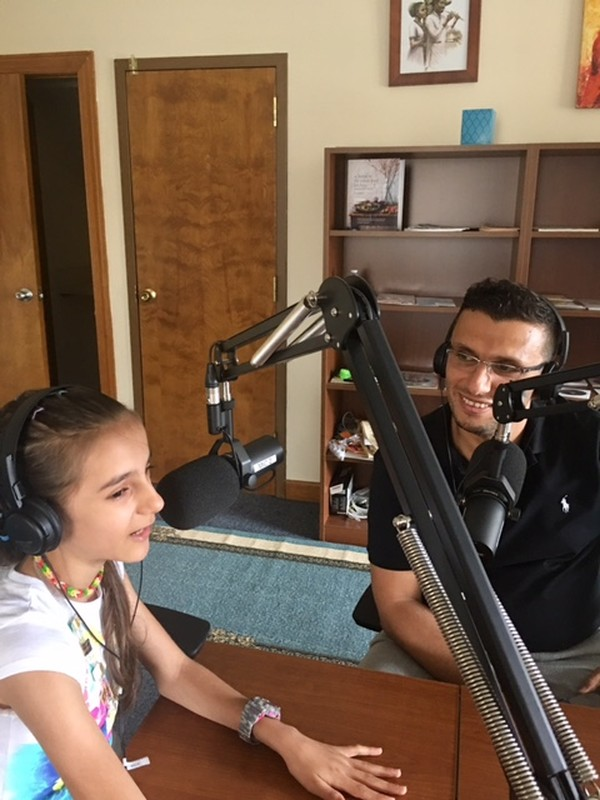 Interview with Dr. Heval Kelli, a cardiology fellow at Emory University School of Medicine, and twelve-year-old Nawroz Youssef