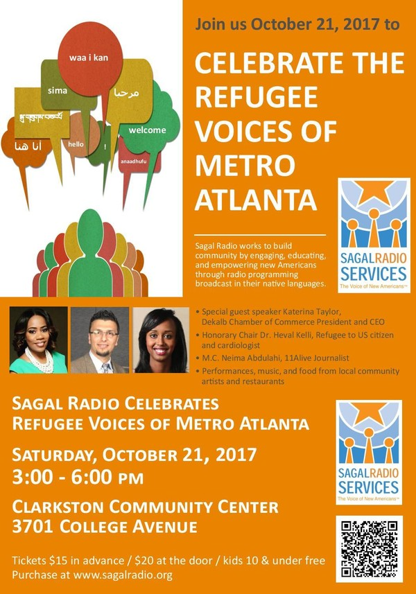 Celebrate Refugee Voices of Metro Atlanta on October 21, 2017