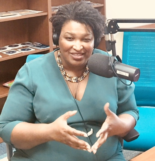 Stacey Abrams, a candidate for governor of Georgia