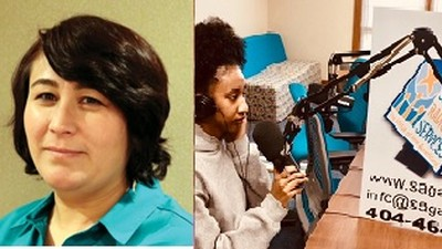 Genet Woldtsadik from Clarkston Community Youth Development Initiative interviews Sumaya Karimi , Georgia Council on Developmental Disabilities , Organizing Director, Real Communities Initiative about the hardest parts of coming to America